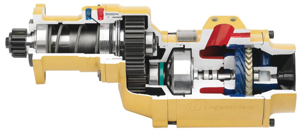 Druckluftanlasser Serie ST1000