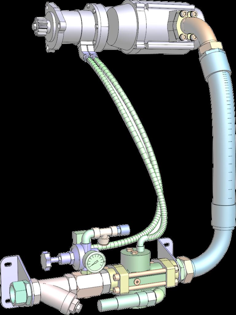 Zeichnung Druckluftregelstrecke
